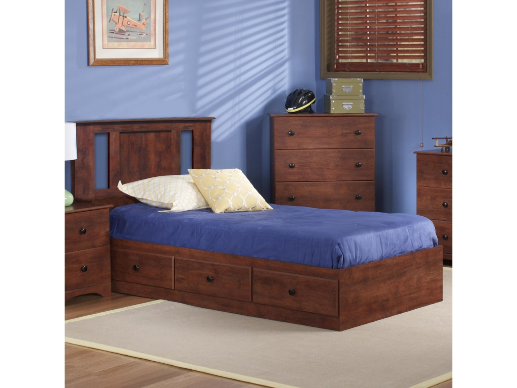 Perdue 11000 SeriesTwin Panel Mates Bed