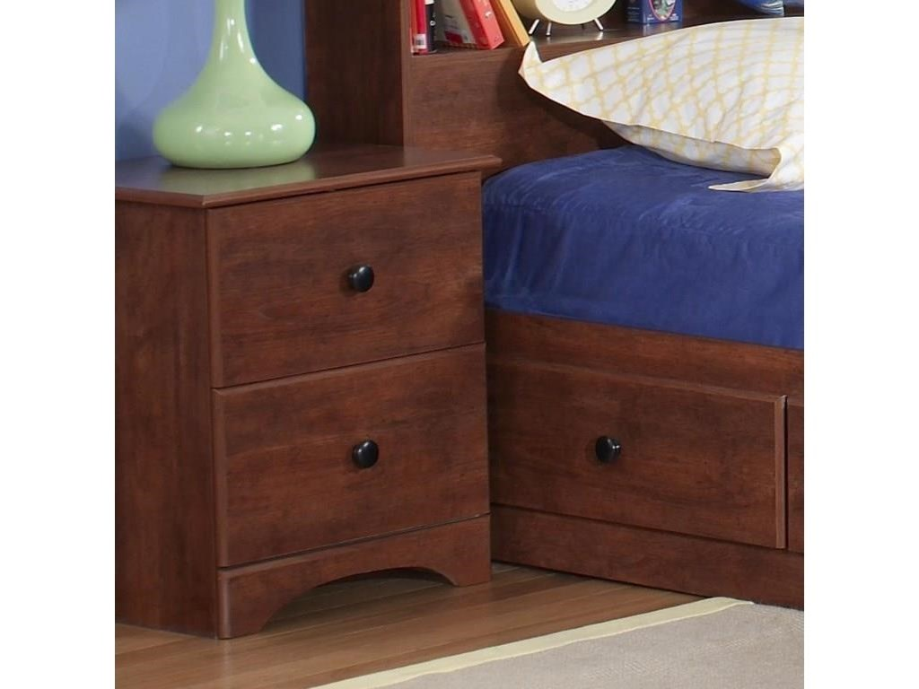 Perdue 11000 SeriesFull Bookcase Headboard Package