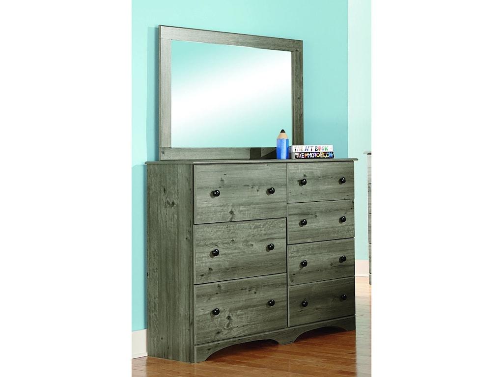 Perdue 13000 SeriesDresser and Mirror Set