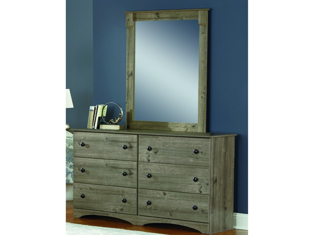 Perdue 13000 SeriesDresser and Mirror Set