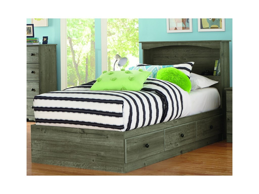 Perdue 13000 SeriesTwin Bookcase Bed