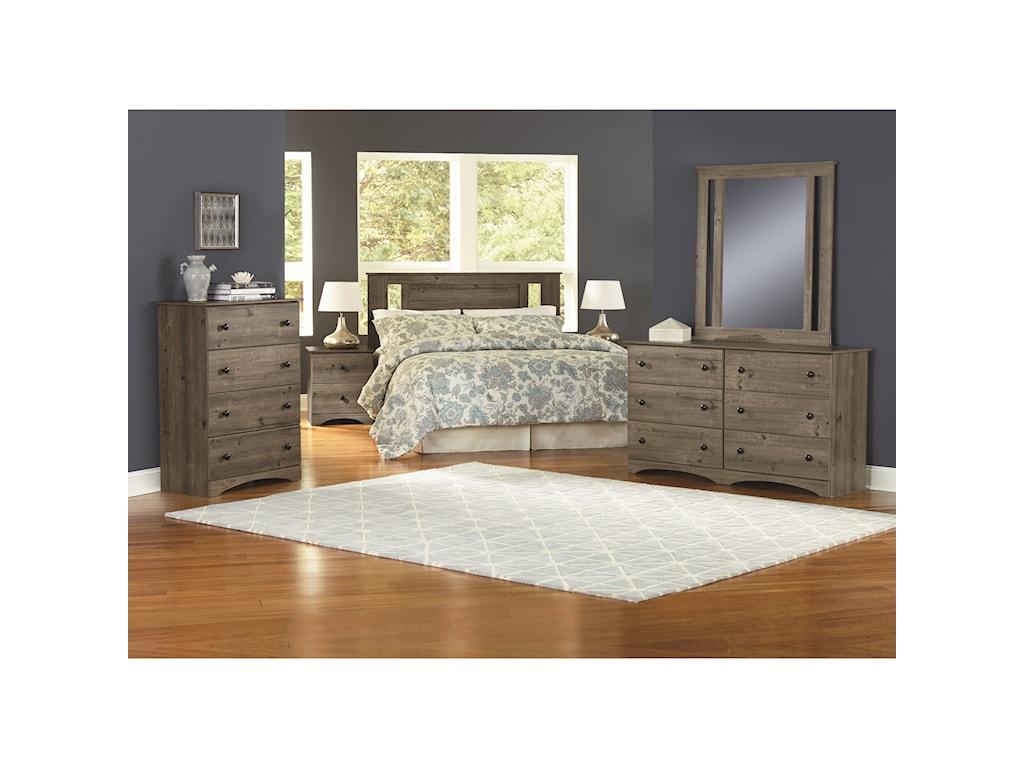 Perdue 13000 SeriesQueen/Full Bedroom Group