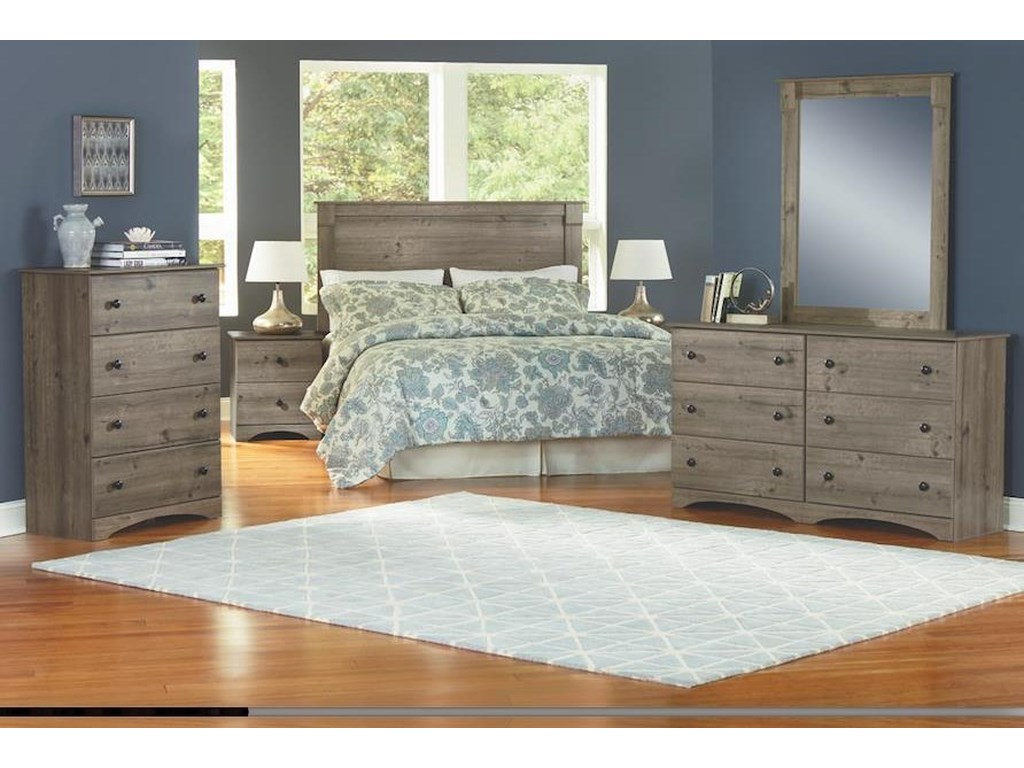 Perdue 13000 Series3 Piece Full Bedroom Group
