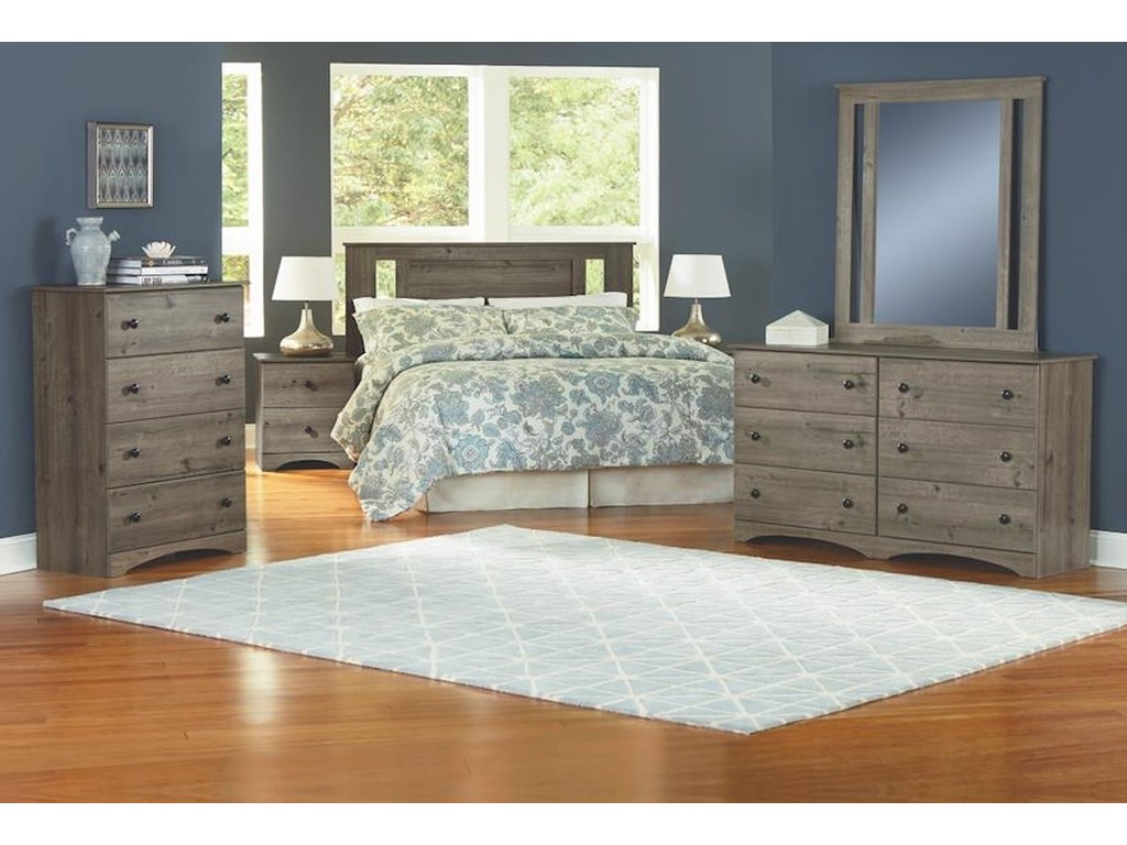 Perdue 13000 Series4 Piece Full Bedroom Group