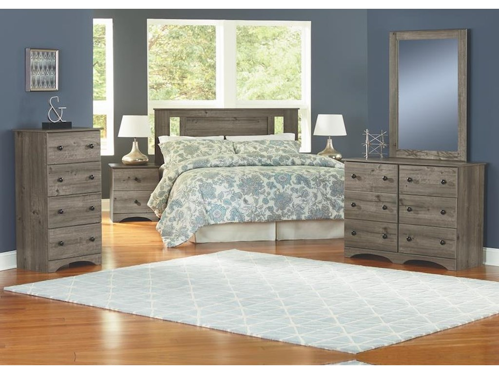 Perdue 13000 Series5 Piece Full Bedroom Group