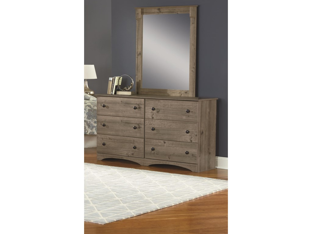 Perdue 13000 SeriesDresser and Mirror Package