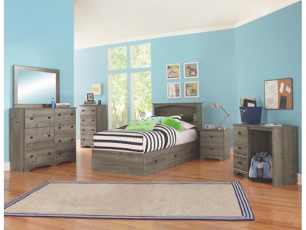 Perdue 13000 Series7 Drawer Dresser Chest