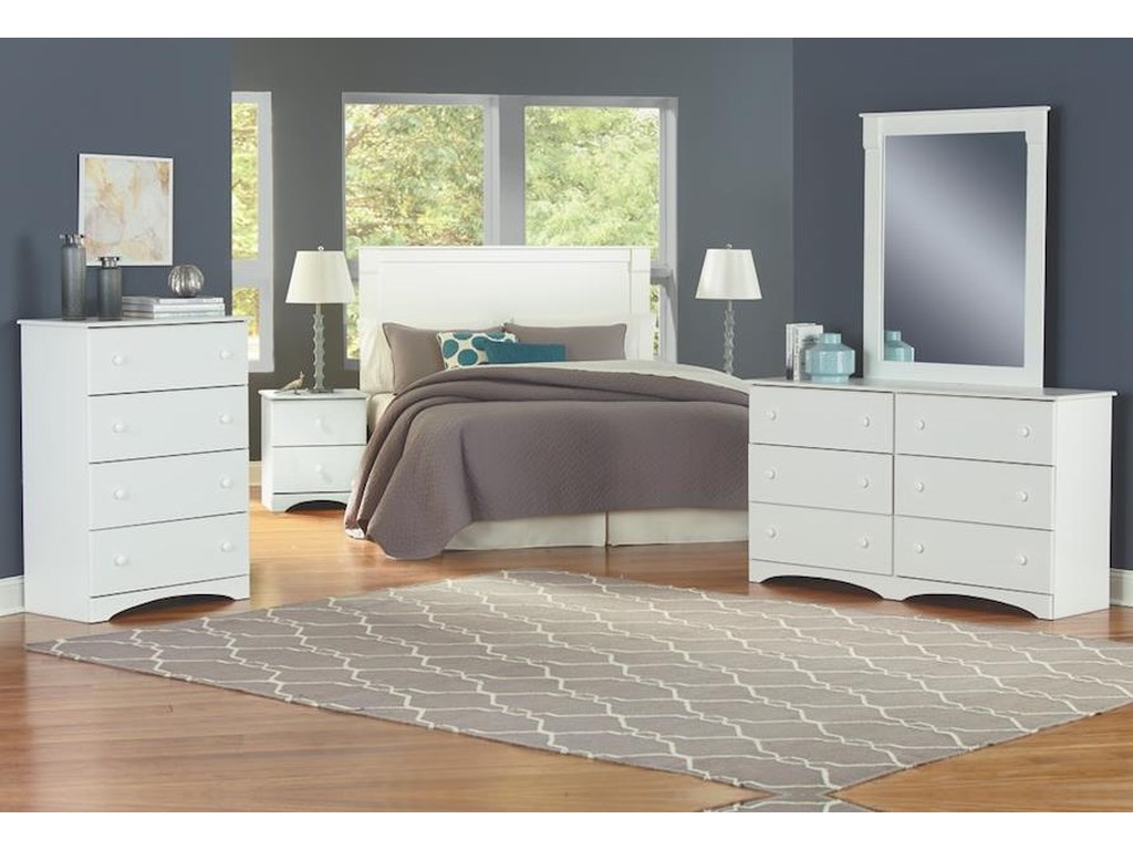 Perdue 14000 Series3 Piece Full Bedroom Group