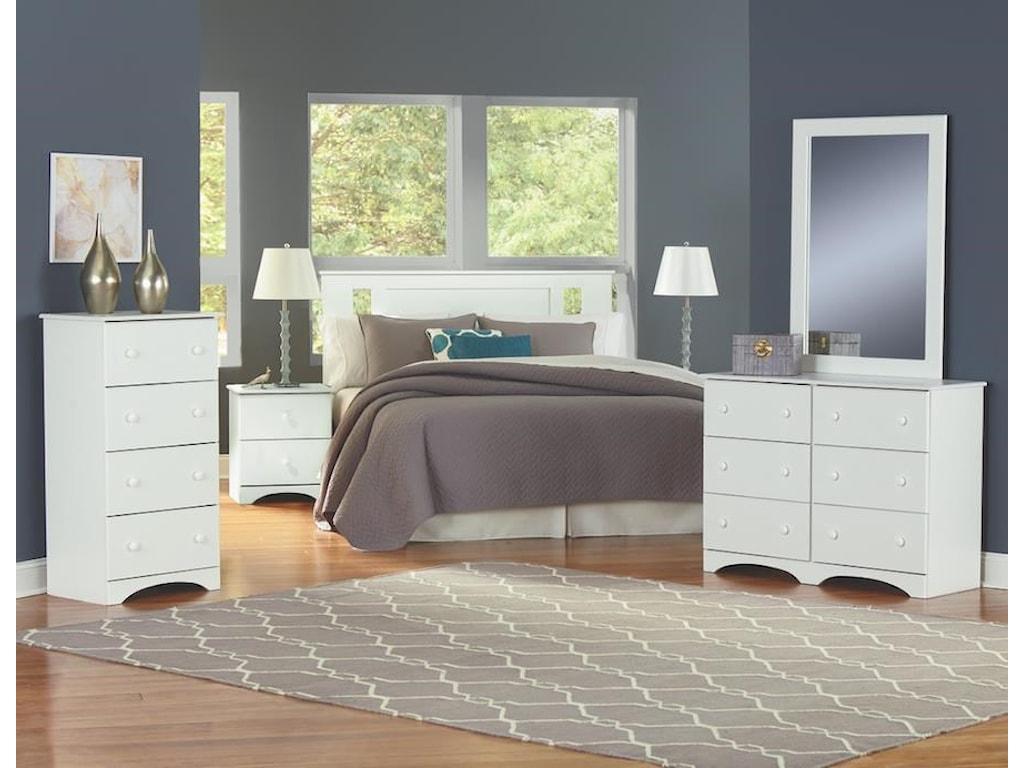 Perdue 14000 Series5 Piece Full Bedroom Group