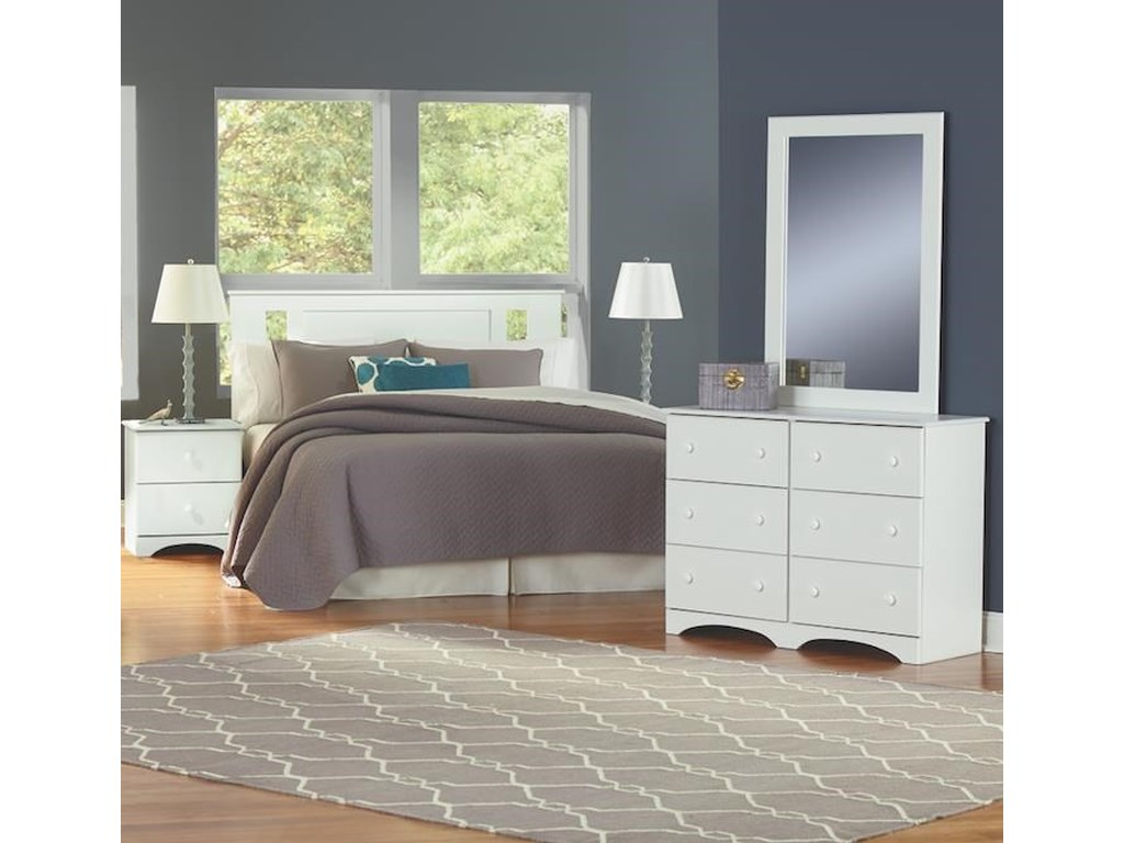 Perdue 14000 Series5 Piece Full Storage Bedroom Group