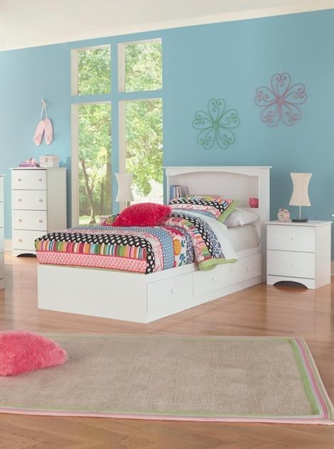 14000 Series Full Size Bookcase Headboard And Mates Stora