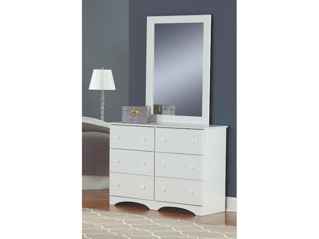 Perdue 14000 Series6 Piece Full Storage and Bookcase Headboard