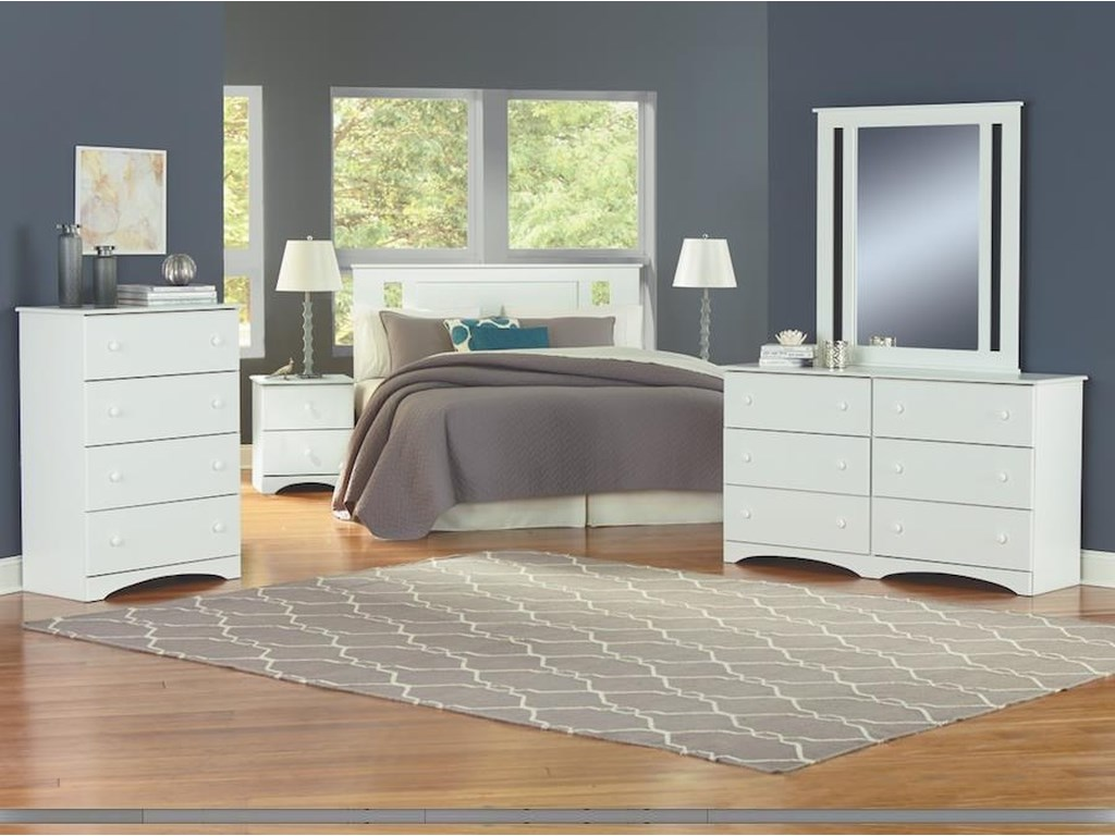 Perdue 14000 Series5 Piece Queen Bedroom Group