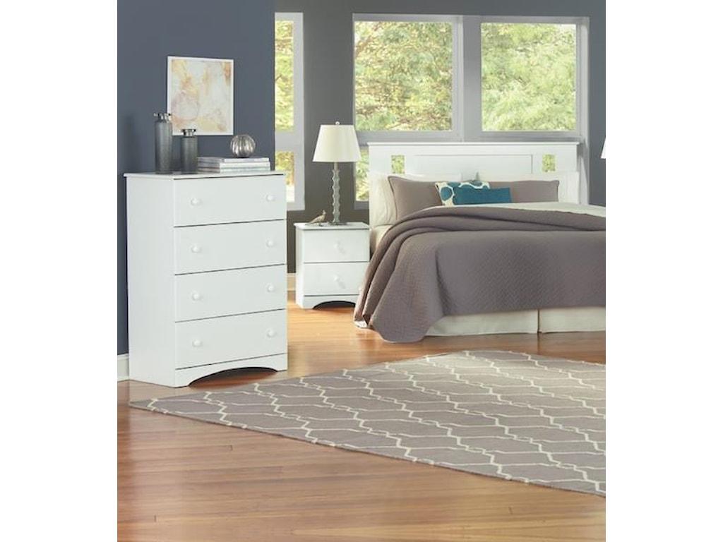 Perdue 14000 Series3 Piece Twin Bedroom Set