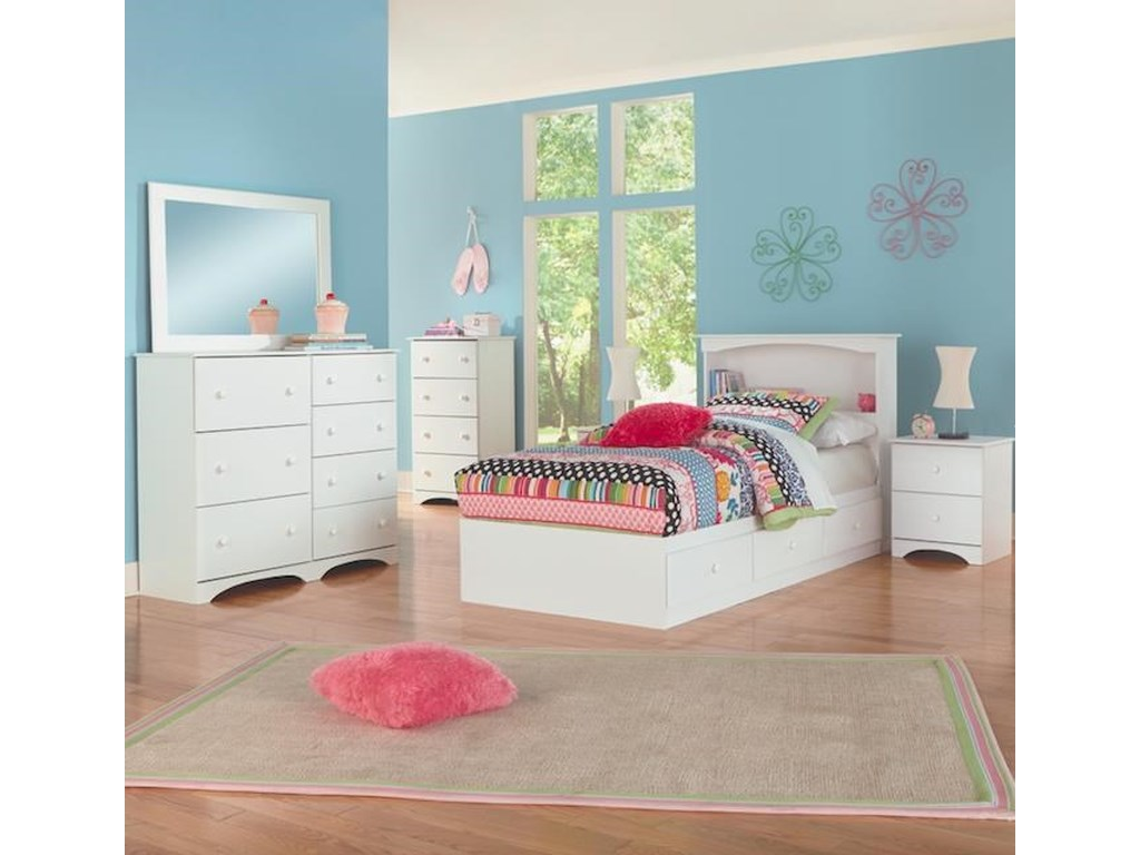Perdue 14000 Series3 Piece Twin Bedroom Set