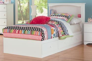 Perdue 14000 Series 14776 Full Size Mates Storage Bed Base Sam Levitz Furniture Captain S Beds