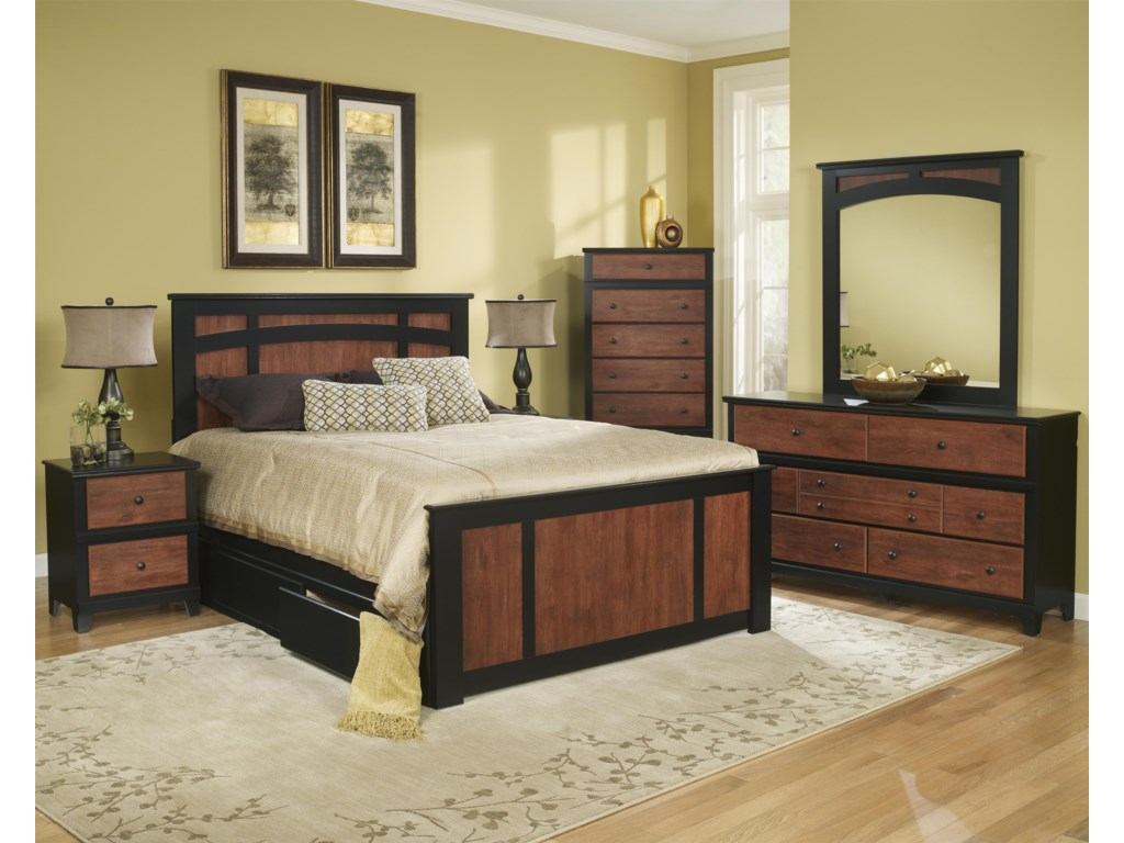 Perdue 49000 SeriesQueen Storage Bed