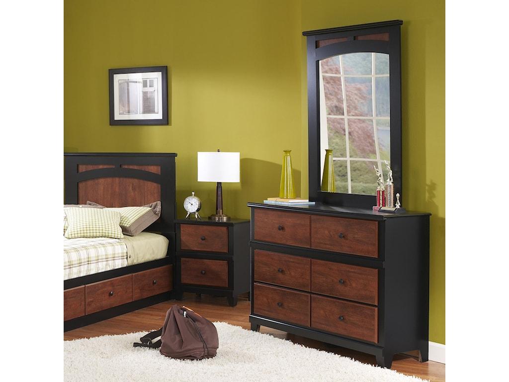 Perdue 49000 Series6-Drawer Dresser