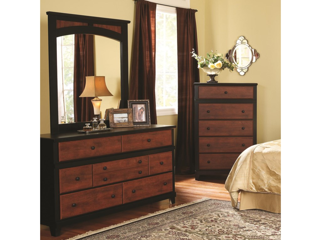 Perdue 49000 Series7-Drawer Dresser