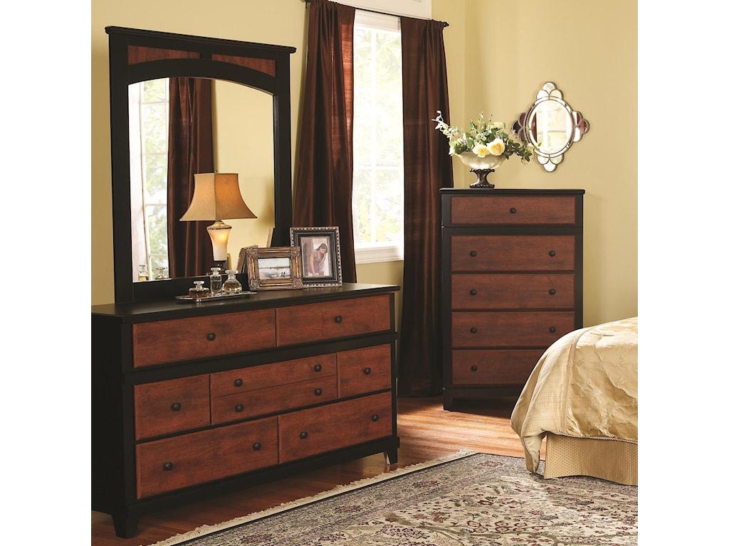 Perdue 49000 Series7-Drawer Dresser