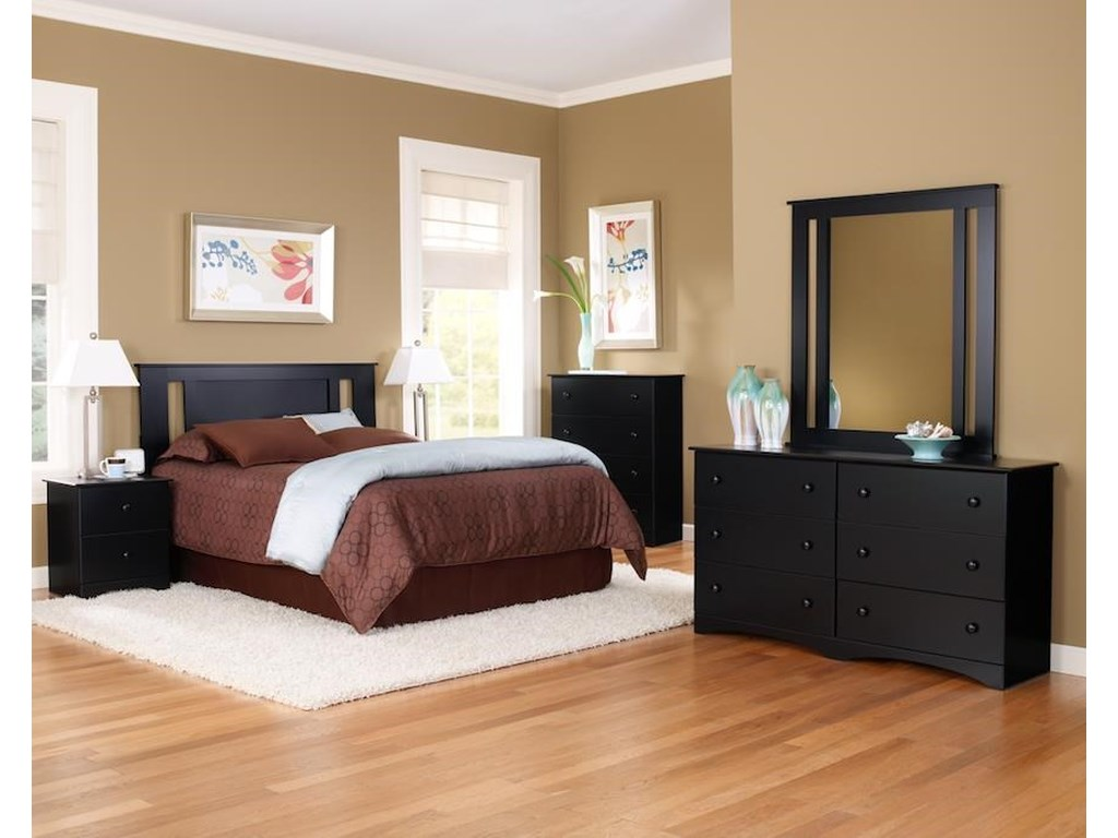 Perdue 5000 Series4 Piece Full Bedroom Set