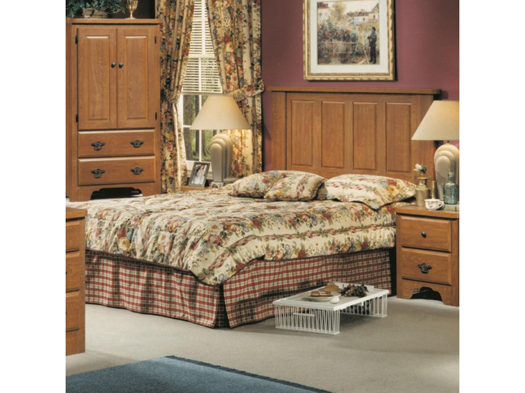 Perdue 54000 SeriesQueen/Full Panel Headboard