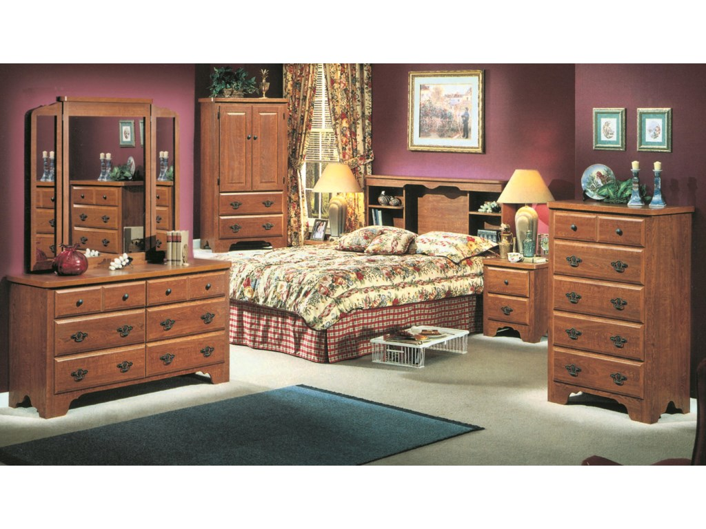 Perdue 54000 Series6-Drawer Dresser