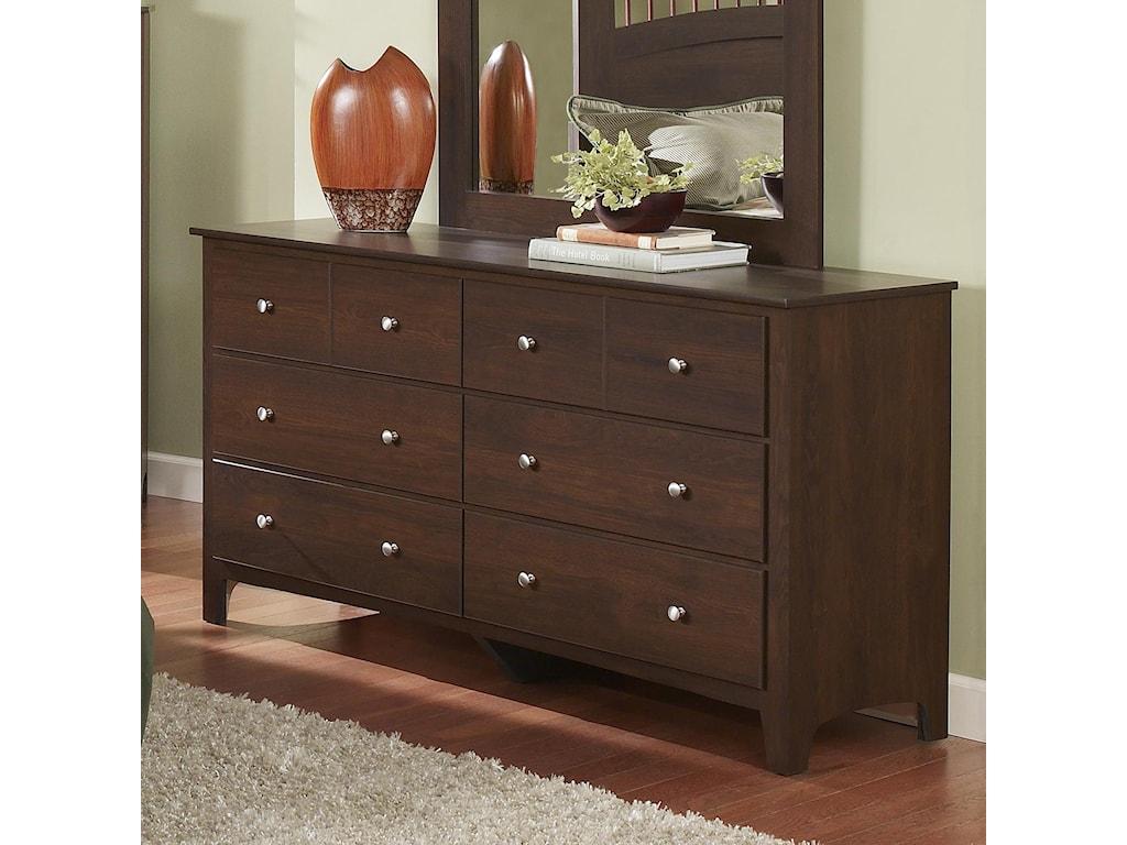Perdue 60000 Series6-Drawer Dresser
