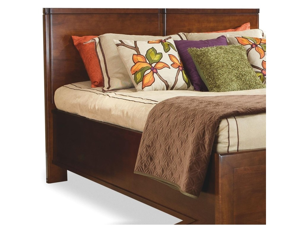 perfectbalance by Durham Furniture BedsDouble Wood Panel Headboard