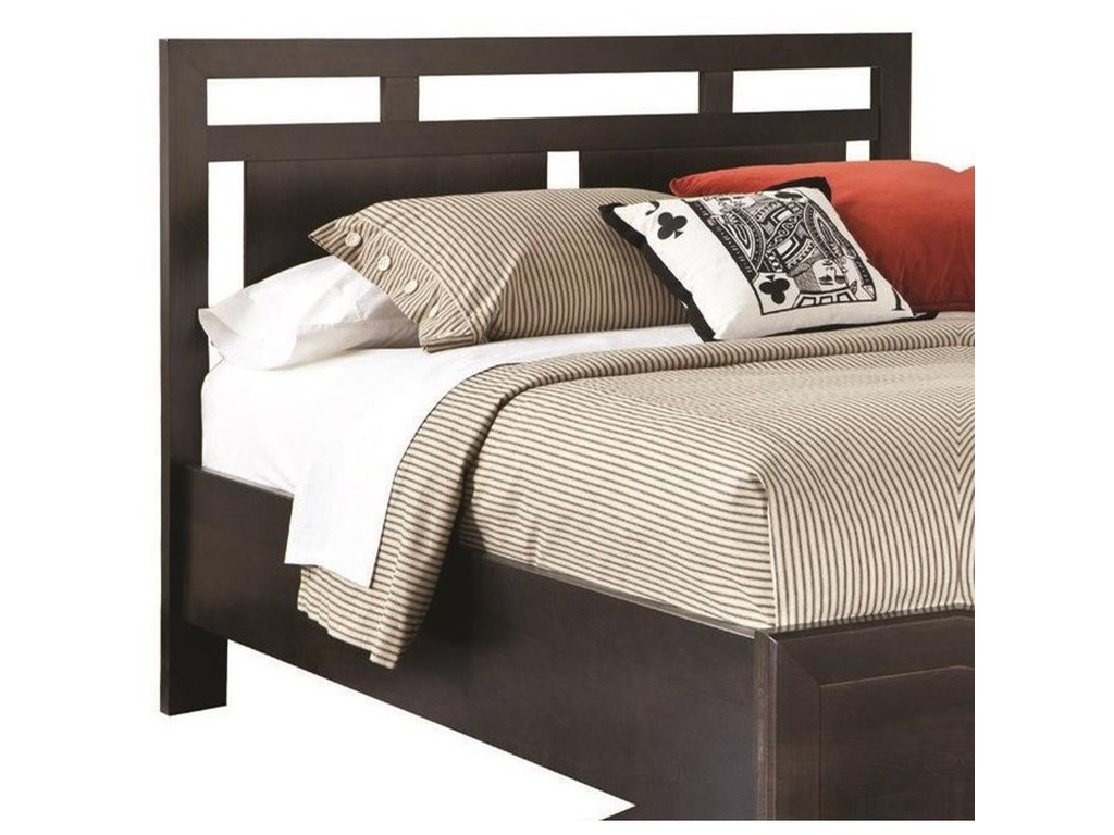 perfectbalance by Durham Furniture BedsLow Profile Panel  Queen Headboard