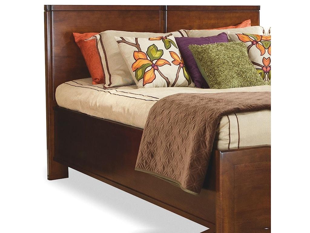perfectbalance by Durham Furniture BedsQueen Wood Panel Headboard