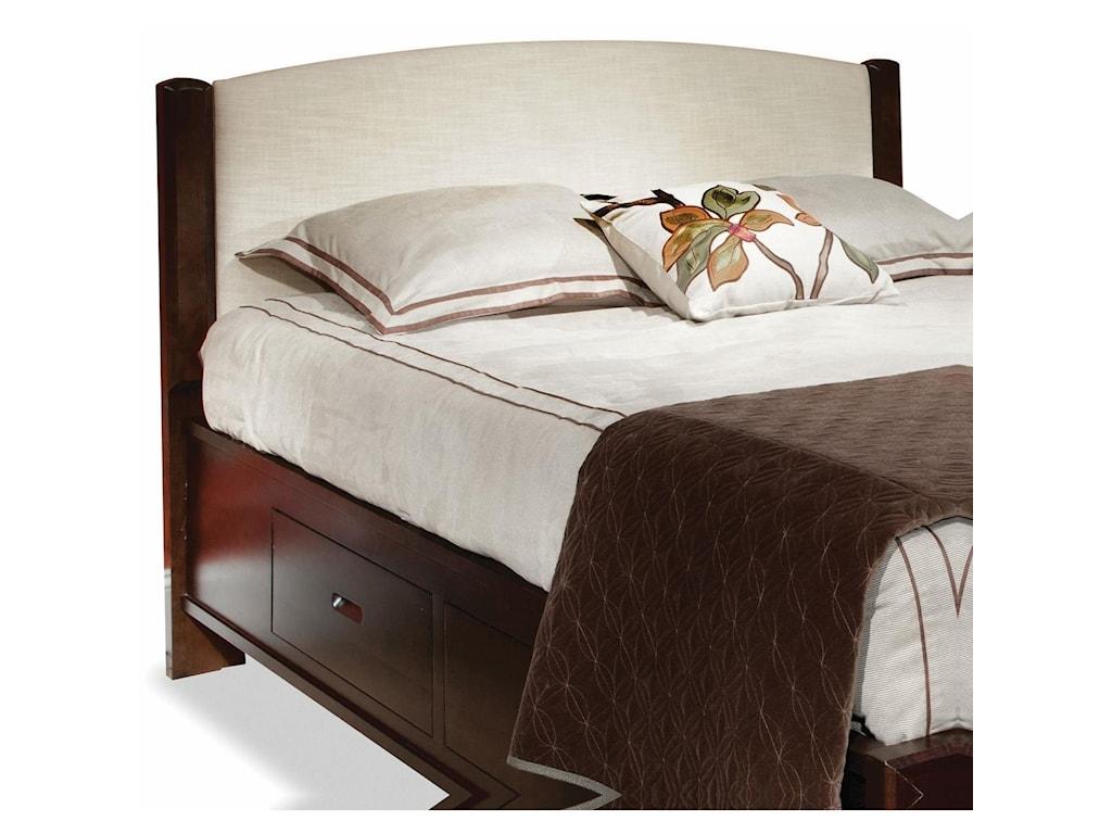 perfectbalance by Durham Furniture BedsKing Fabric Panel Headboard