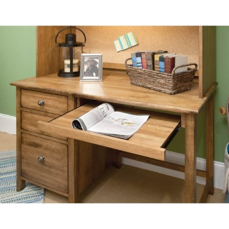 Student Desk W/Pull Out Keyboa