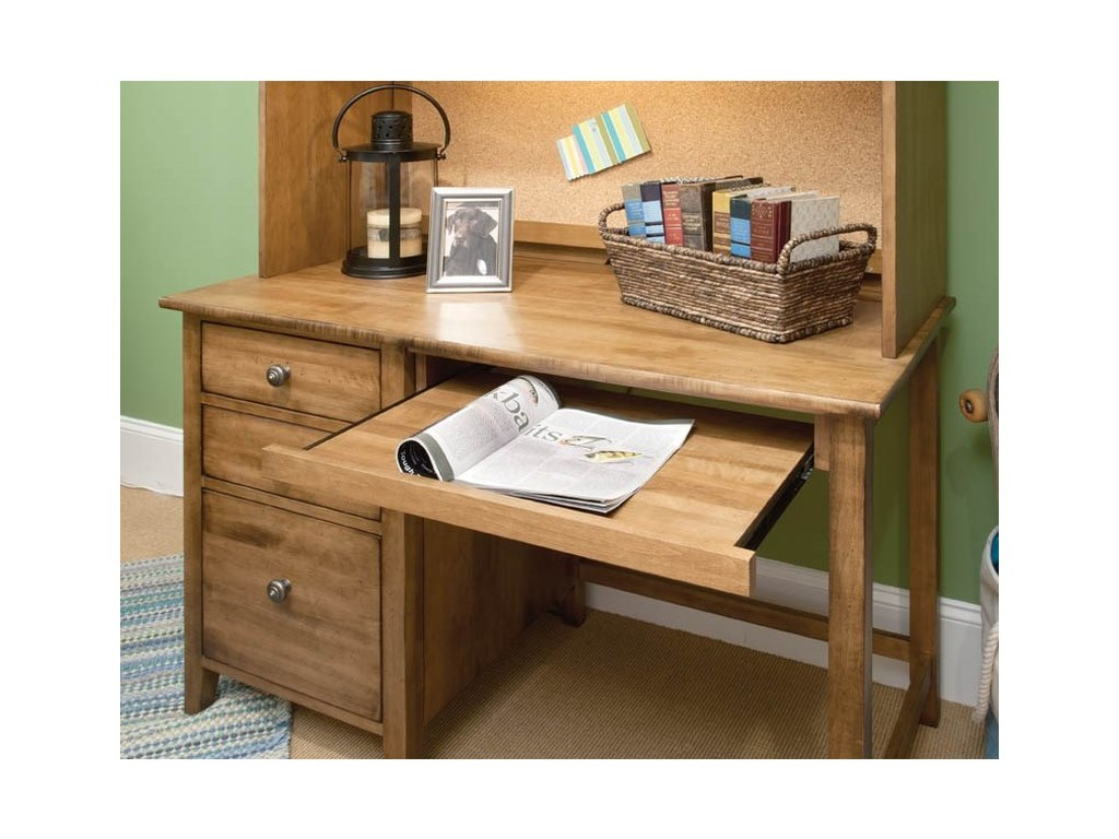 Perfectbalance By Durham Furniture Beds Student Desk W Pull Out