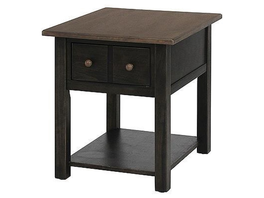 Peters Revington CrossnoreEnd Table