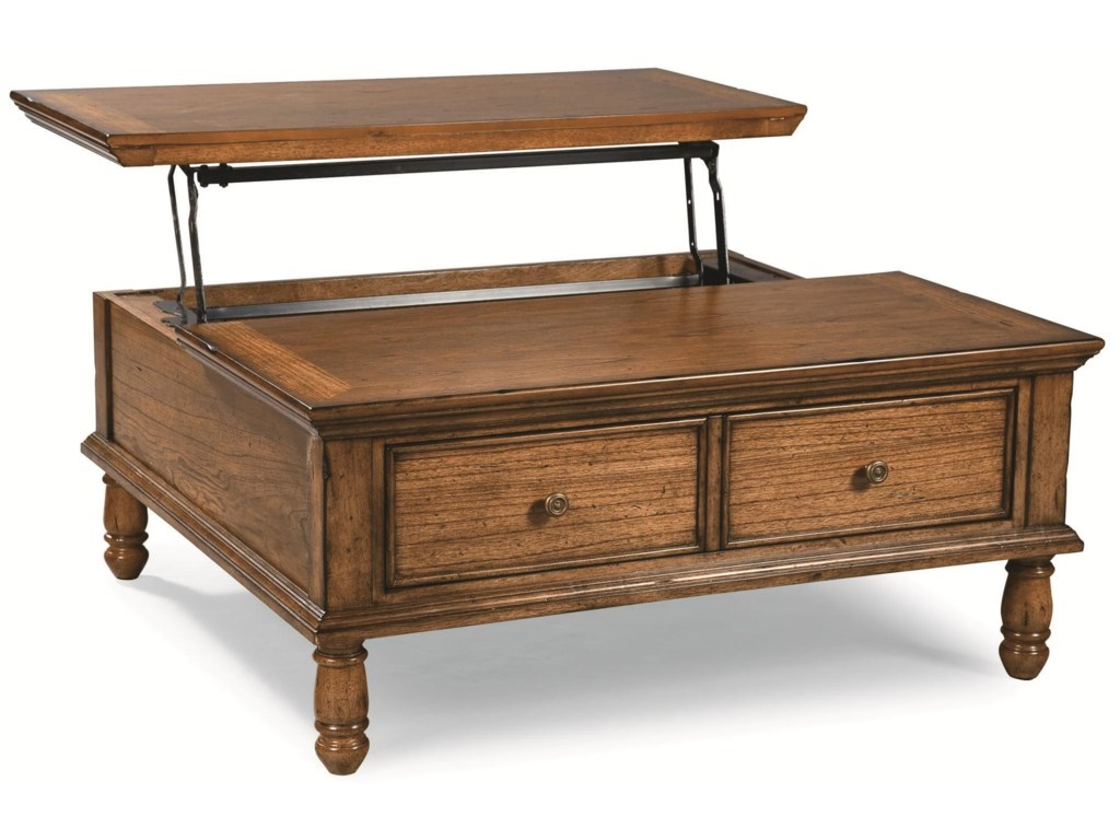 Peters Revington BriarwoodCocktail Table with Lift-Top