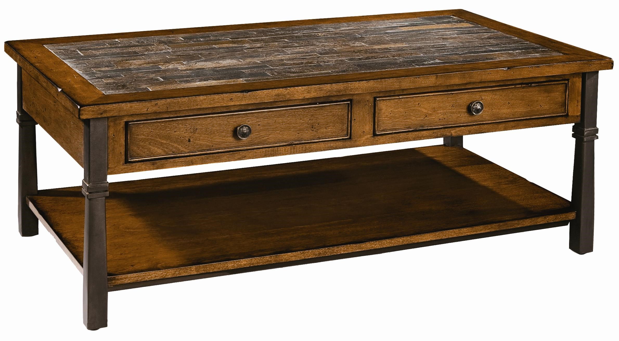 peters revington oslo two drawer cocktail table - wayside
