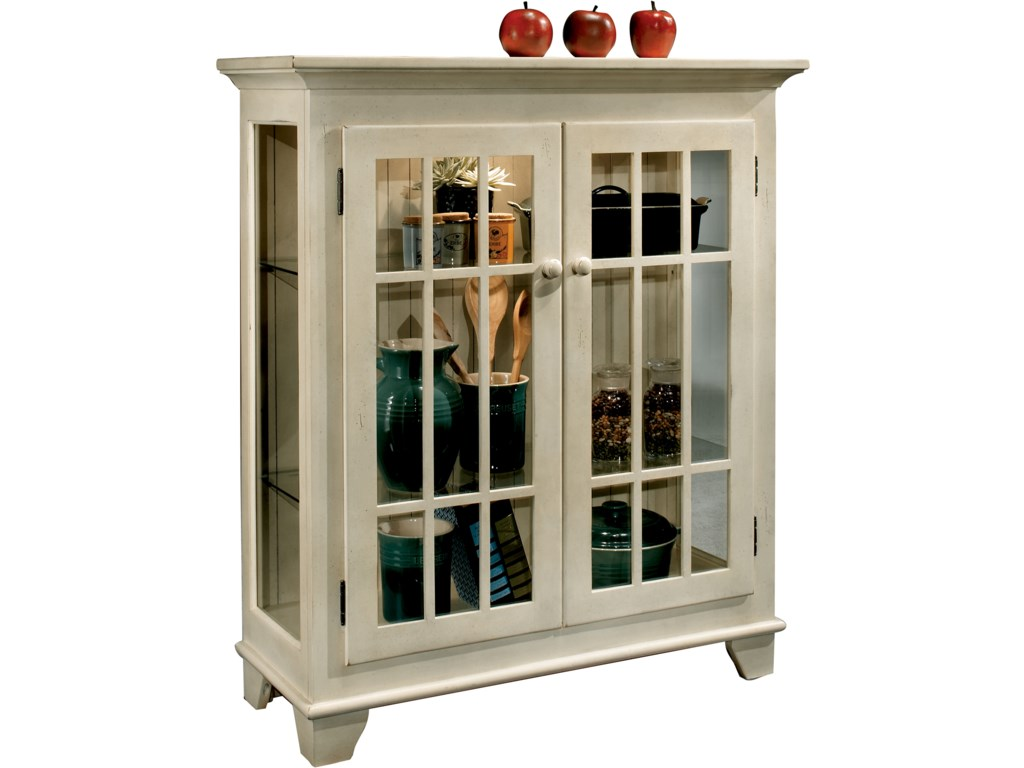 Philip Reinisch ColorTime - WhiteBarlow Two Door Display Console