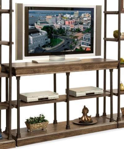 Philip Reinisch Folio Sonoma Iron and Wood TV Console