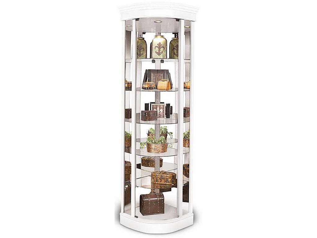 Philip Reinisch Lighthouse CuriosAuburage IV Curved Corner Cabinet
