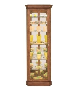 Lighthouse Curios Octave 8 Shelf Corner Curio Cabinet By Philip Reinisch