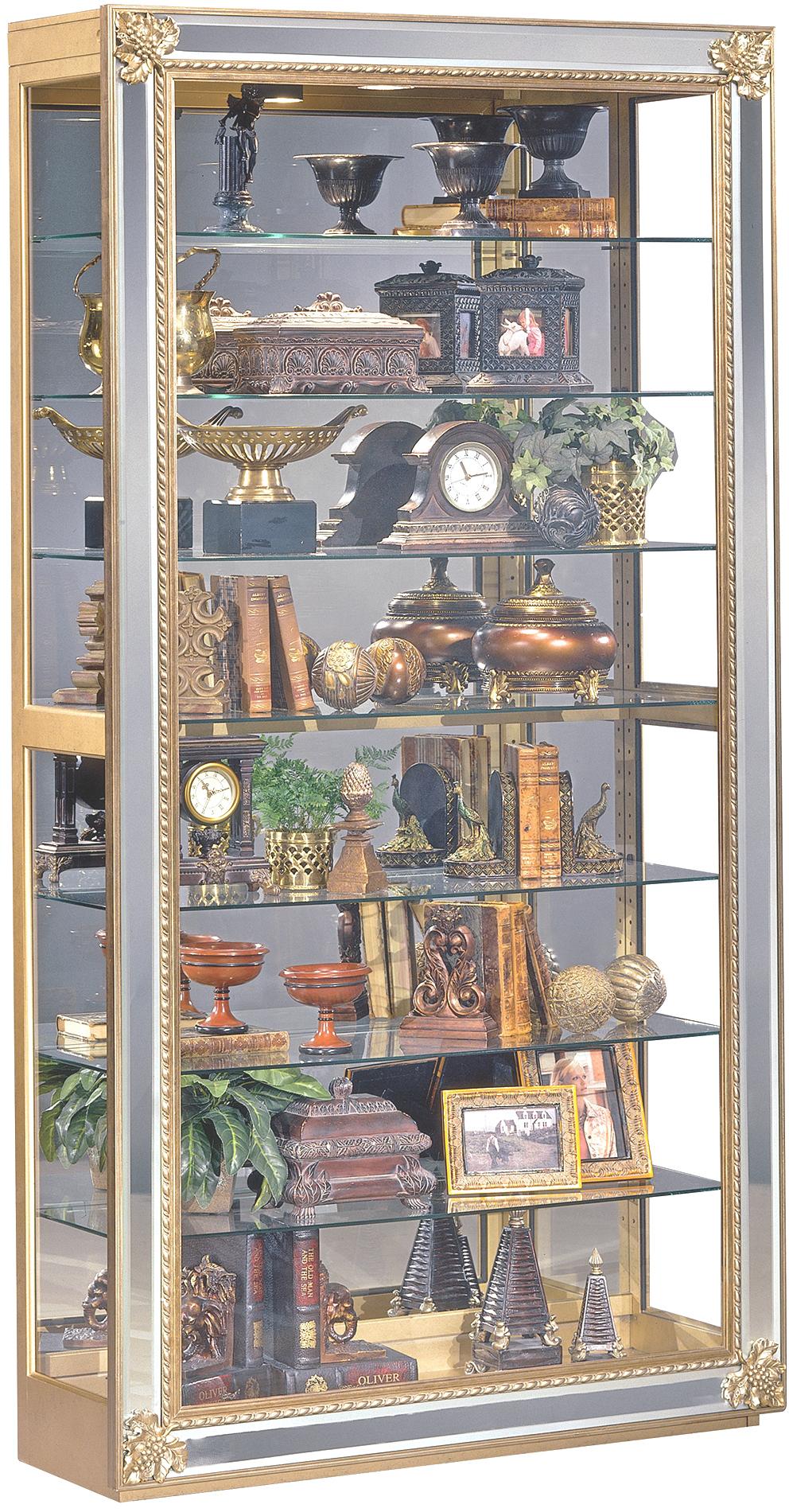 Philip Reinisch Museum Reflection Sliding Door Fine Art Picture Frame Curio Cabinet Rune S Furniture Curio Cabinet