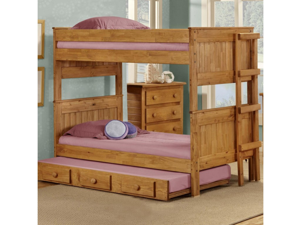 Pine Crafter Youth BedroomTwin/Twin Bunk Bed