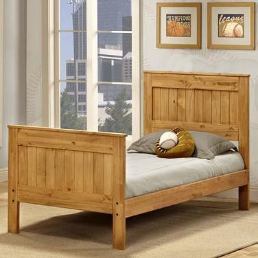 Pine Crafter Youth Bedroom Full Mates Bed