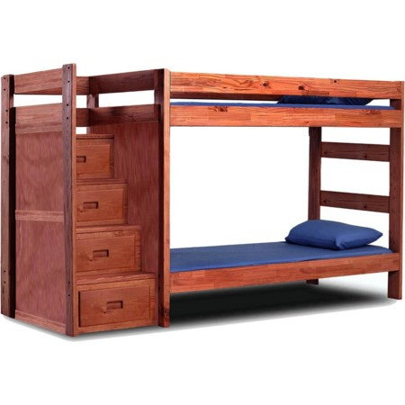 Twin Staircase Bunk Bed