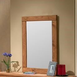 Pine Crafter Youth Bedroom Solid Pine Frame Vertical Mirror