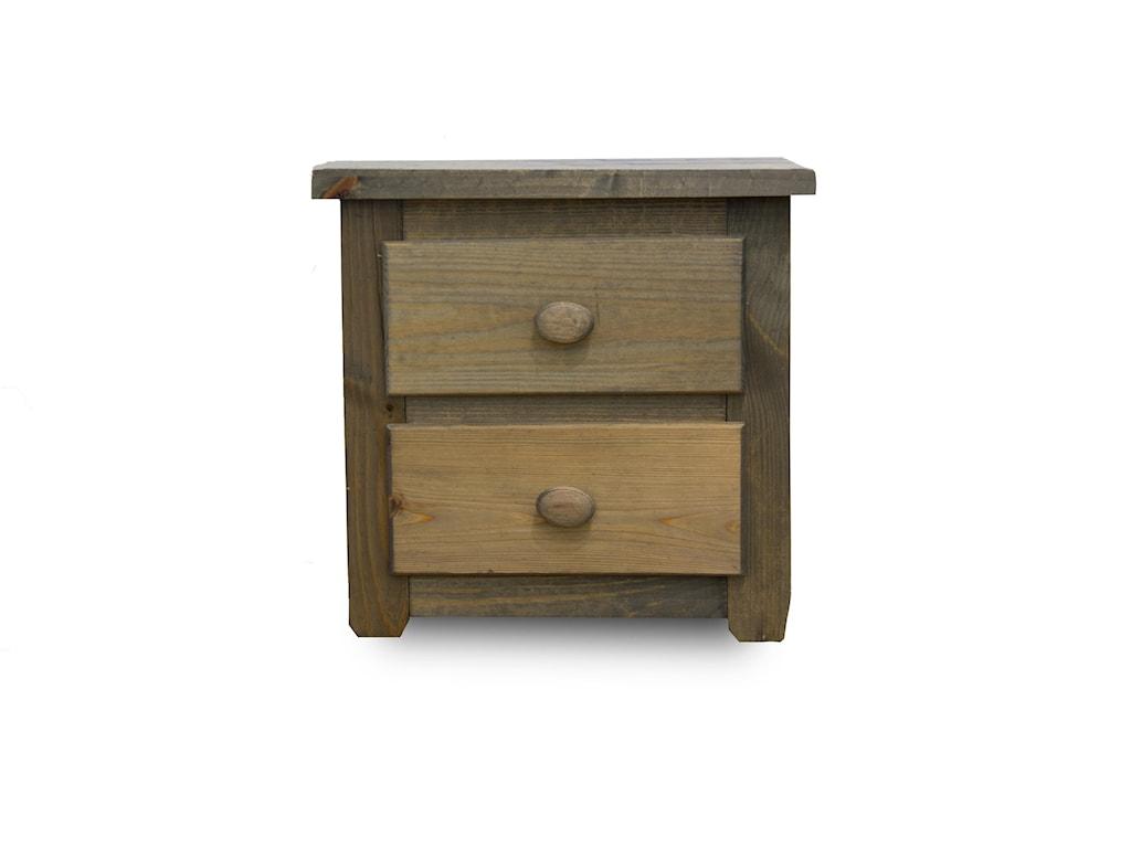 Pine Crafter WalnutNightstand