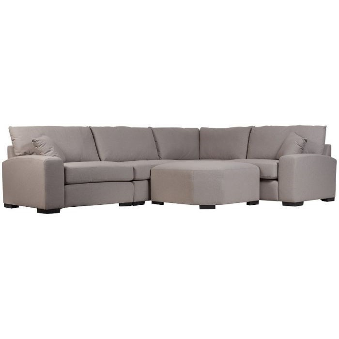 Clayton Casual 4 Piece L Shaped Sectional By Porter International Designs