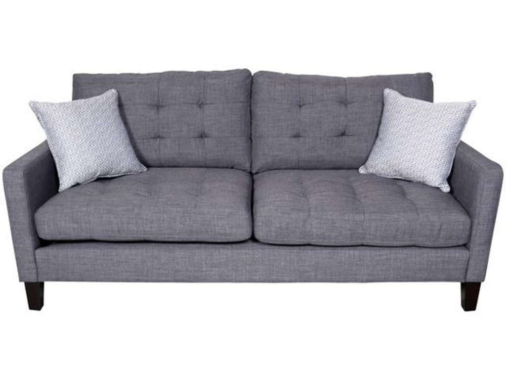 Porter International Designs Draper Contemporary Sofa with ...