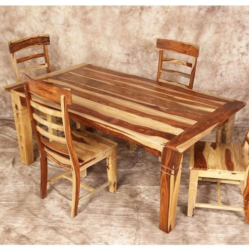 Porter International Designs Tahoe Leg Dining Table